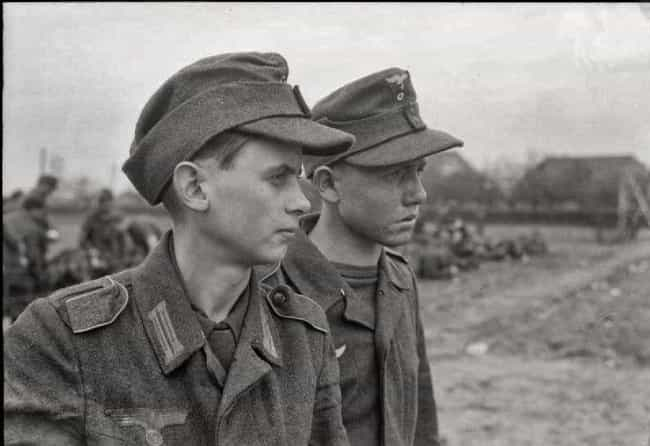 Teenage Soldiers of Nazi Germa... is listed (or ranked) 4 on the list Pictures of Kids on the Wrong Side of History