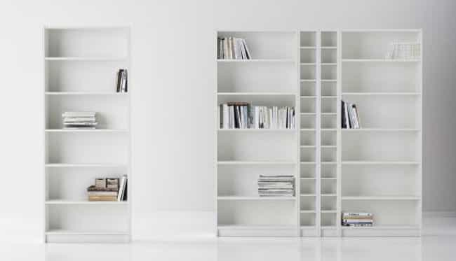 One BILLY Bookcase Is Sold Eve... is listed (or ranked) 2 on the list 24 Things You Didn't Know About IKEA
