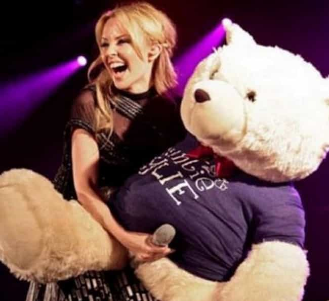 Kylie Minogue Gone Teddy Bear ... is listed (or ranked) 2 on the list Photos That Were Banned On Facebook