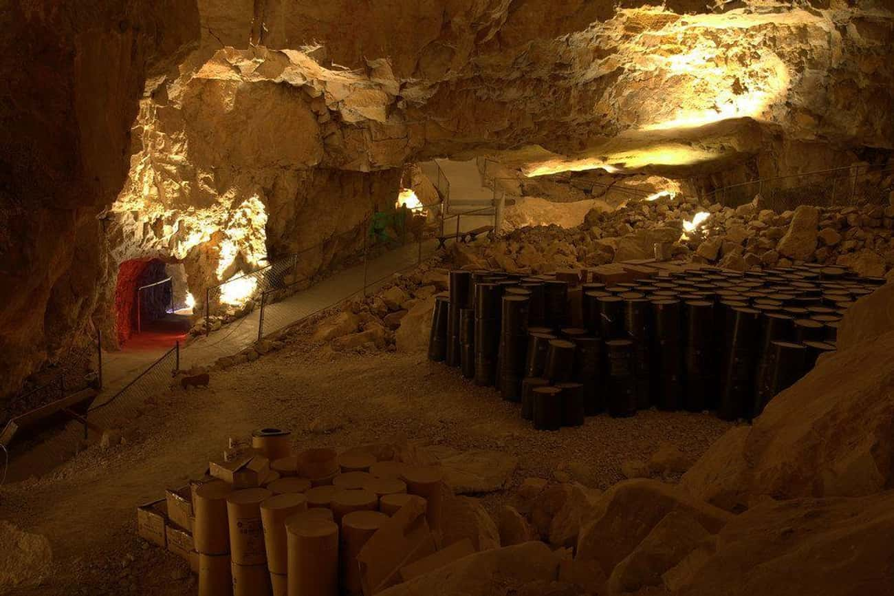 There's A Guest Suite Inside A Cave That's Reportedly Haunted