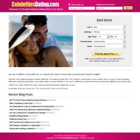 Celebritiesdating.com is listed (or ranked) 6 on the list The Best Dating Websites