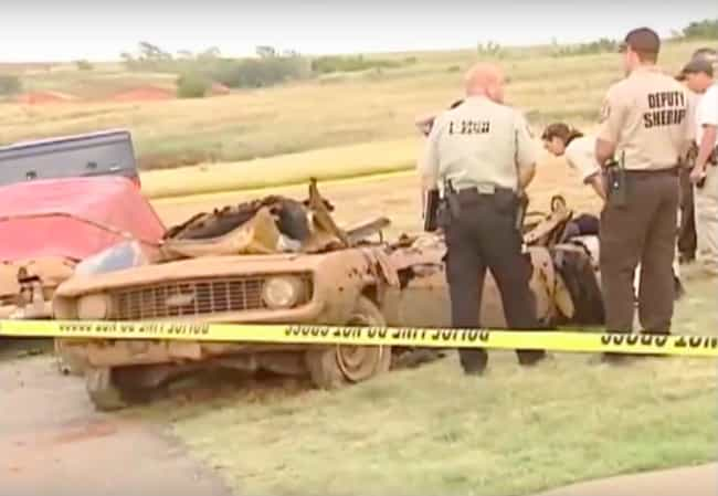 An Especially Deadly Oklahoma ... is listed (or ranked) 3 on the list Odd And Mysterious Things Found At The Bottom Of Lakes
