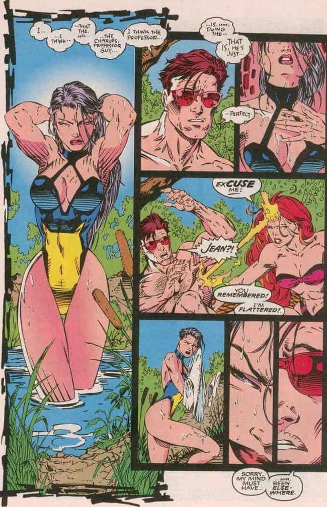 She and Psylocke Have Bad Bloo... is listed (or ranked) 3 on the list 22 Things You Didn't Know About Jean Grey