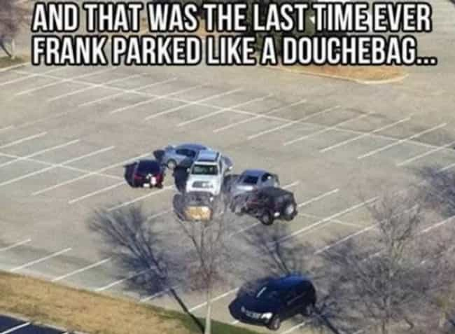 Parking Up the Wrong Tre... is listed (or ranked) 2 on the list 25 Photos That Prove Karma's a B*tch