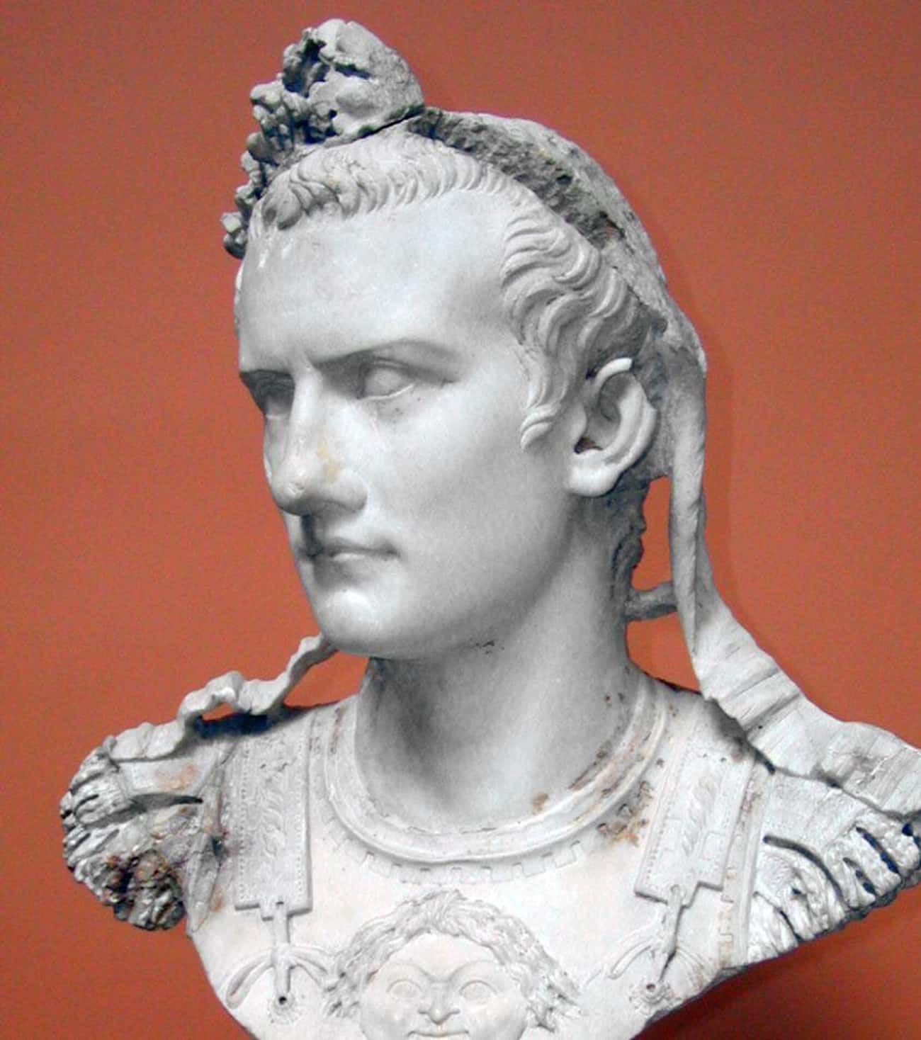 Caligula Went To A Wedding And is listed (or ranked) 2 on the list The Craziest Ancient Rome Sex Scandals