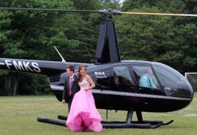 And You Thought the Limo You R... is listed (or ranked) 3 on the list 20 Rich Kid Prom Pictures That Will Leave You Utterly Depressed
