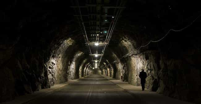 Cheyenne Mountain Complex is listed (or ranked) 2 on the list The World's Most Inaccessible Places