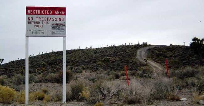 Area 51 is listed (or ranked) 4 on the list The World's Most Inaccessible Places