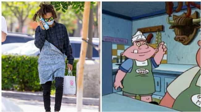 Lunching Like Harold is listed (or ranked) 2 on the list All the Times Jaden Smith Dressed Like Hey Arnold