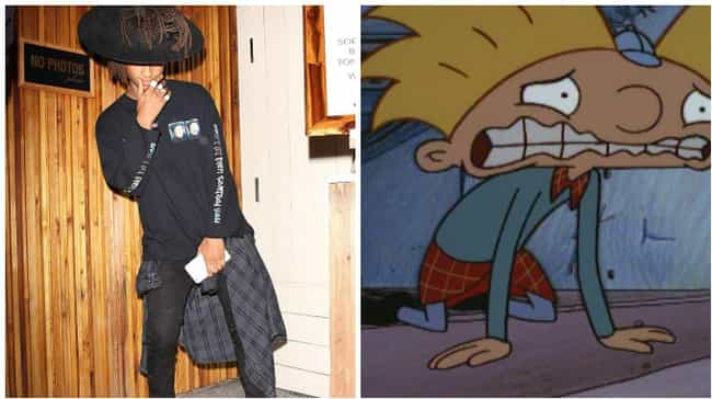 TFW You Love Helga but Can'... is listed (or ranked) 3 on the list All the Times Jaden Smith Dressed Like Hey Arnold