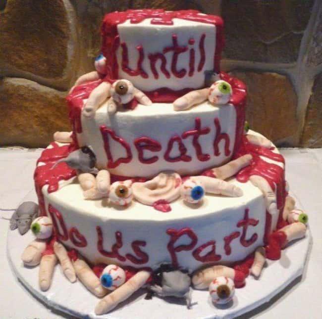 17 koszmarnych weselnych tortów, które Panny Młode niestety zapamiętają do końca życia