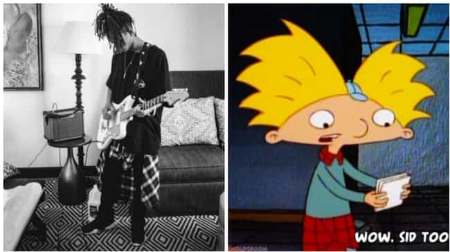 Hey Guitarnold is listed (or ranked) 1 on the list All the Times Jaden Smith Dressed Like Hey Arnold