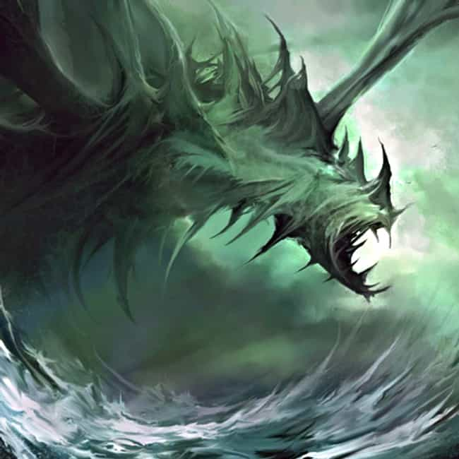 Judaism: Leviathan is listed (or ranked) 3 on the list The Scariest Sea Monsters from Legends Around the World