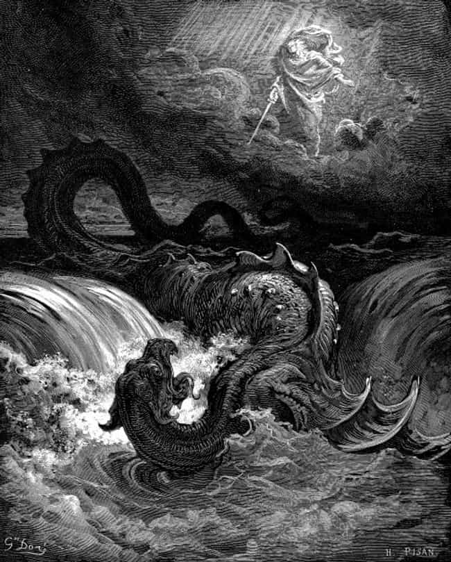 Judaism: Leviathan is listed (or ranked) 4 on the list The Scariest Sea Monsters From Legends Around The World