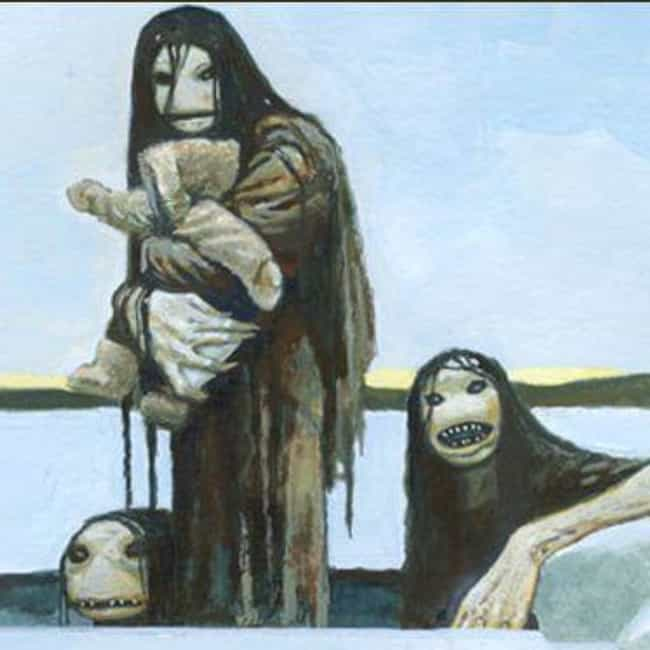 Inuit: Qalupalik is listed (or ranked) 1 on the list The Scariest Sea Monsters from Legends Around the World