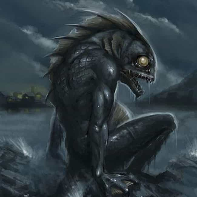 Celtic: Finfolk is listed (or ranked) 4 on the list The Scariest Sea Monsters from Legends Around the World