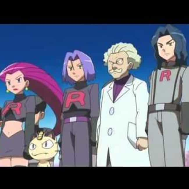 Team Rocket vs. Team Pla... is listed (or ranked) 4 on the list 7 Pokemon Episodes Banned Around the World