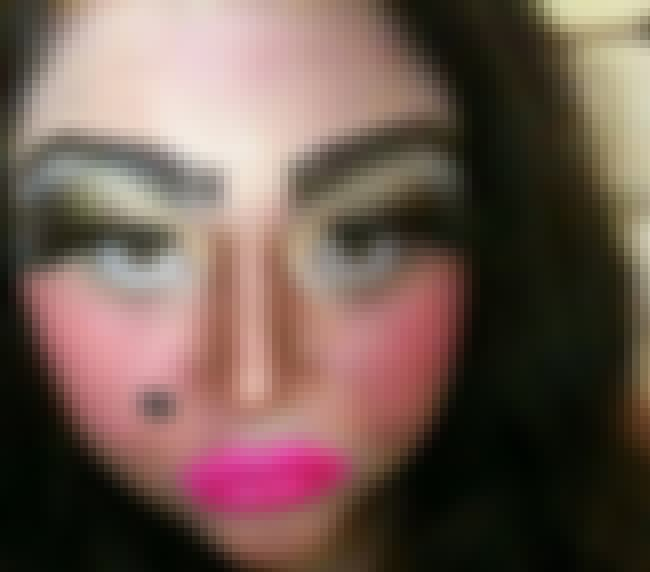 Is My Face Red? is listed (or ranked) 3 on the list The Worst Makeup Fails Ever