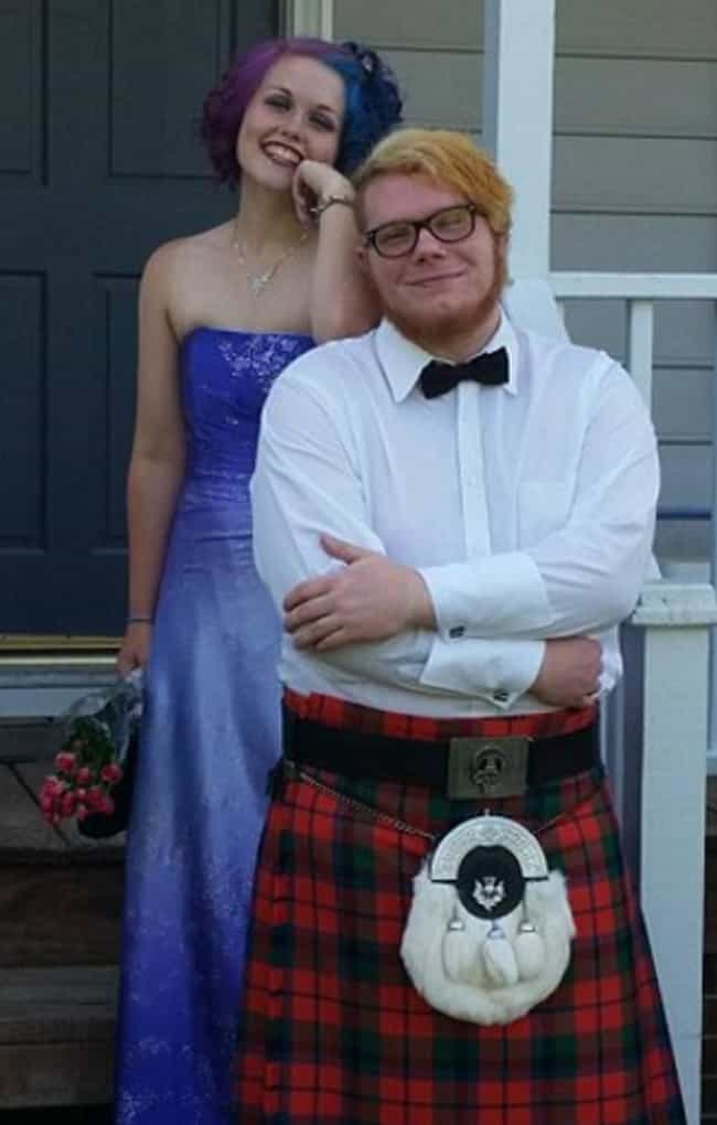 The Kilt That Didn't Make The ... is listed (or ranked) 3 on the list Outfits That Got Kids Kicked Out of Prom