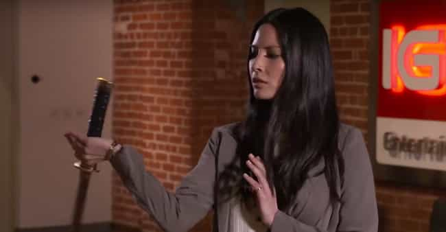 Olivia Munn Learned Swor... is listed (or ranked) 4 on the list 23 Things You Didn't Know About Psylocke