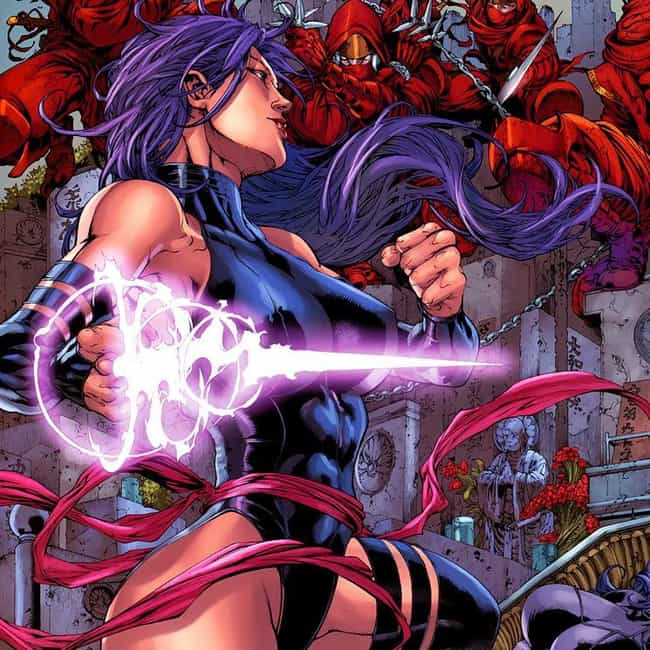 She Can Travel Between Worlds is listed (or ranked) 1 on the list 23 Things You Didn't Know About Psylocke