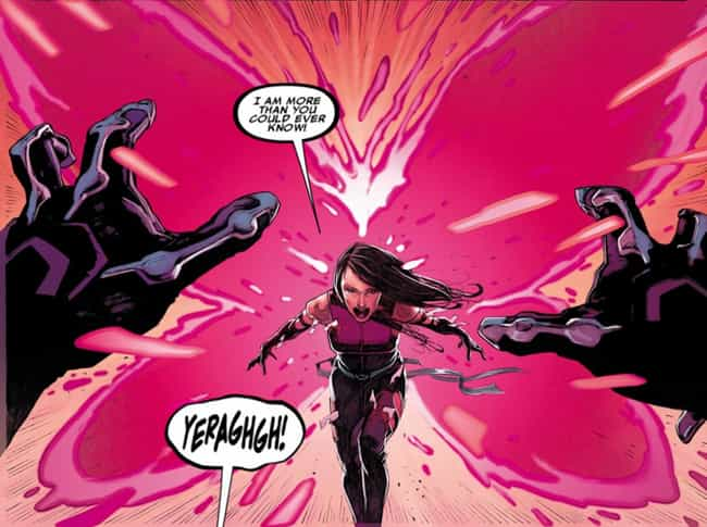 Her Mutant Abilities Are... is listed (or ranked) 1 on the list 23 Things You Didn't Know About Psylocke