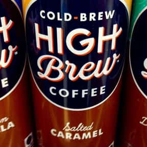High Brew is listed (or ranked) 4 on the list The Best Coffee Drink Brands