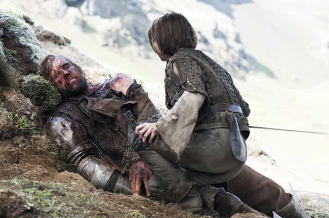 The Hound Is Actually a Graved... is listed (or ranked) 2 on the list Clues That the Hound May Not Be Dead
