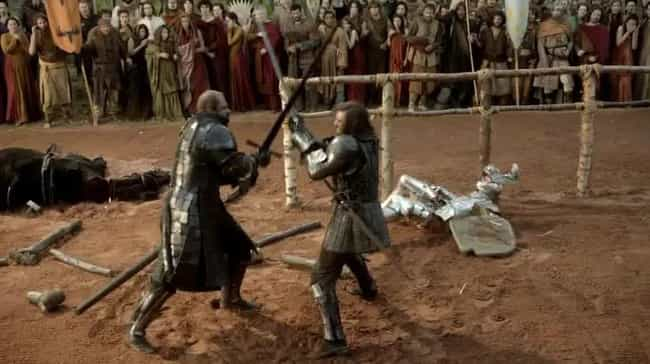 The Classic Clegane Bowl Theor... is listed (or ranked) 4 on the list Clues That the Hound May Not Be Dead
