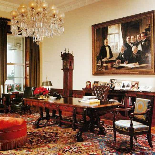 The Treaty Room is listed (or ranked) 2 on the list The Coolest Rooms in the White House (And What Happens in Them)