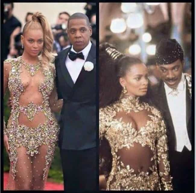 "Beyonce's Coming to Amer... is listed (or ranked) 4 on the list ""Who Wore It Better?"" Memes That You Can't Not Laugh At"