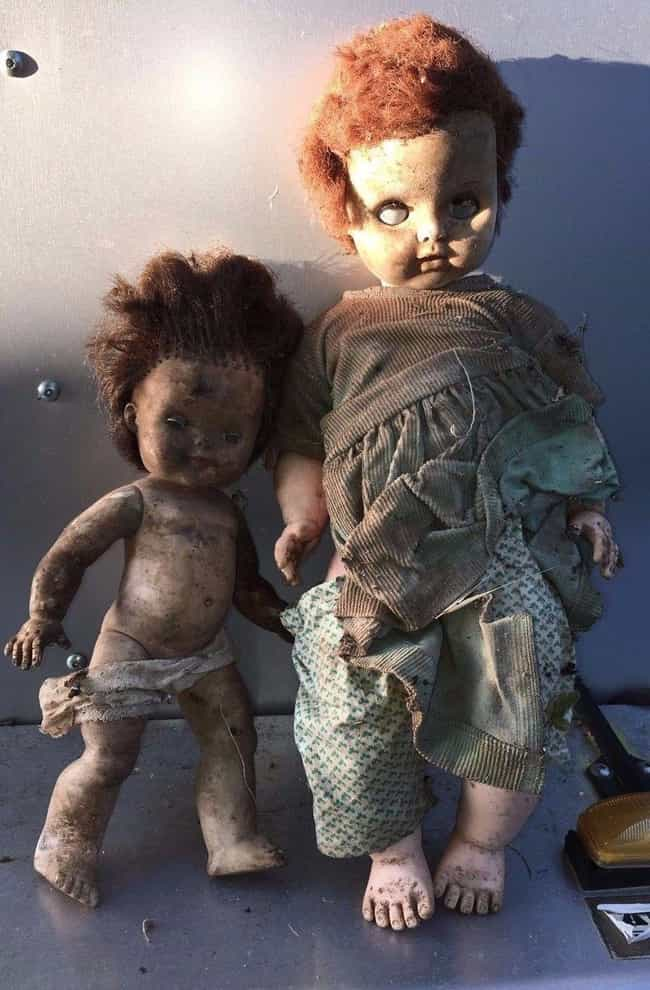 Creepy Dirty Dolls is listed (or ranked) 3 on the list 18 of the Creepiest Dolls You Can Buy on EBay