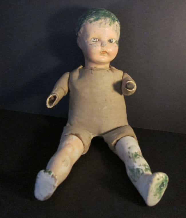 Old, Creepy, Scary, Anti... is listed (or ranked) 8 on the list 18 of the Creepiest Dolls You Can Buy on EBay