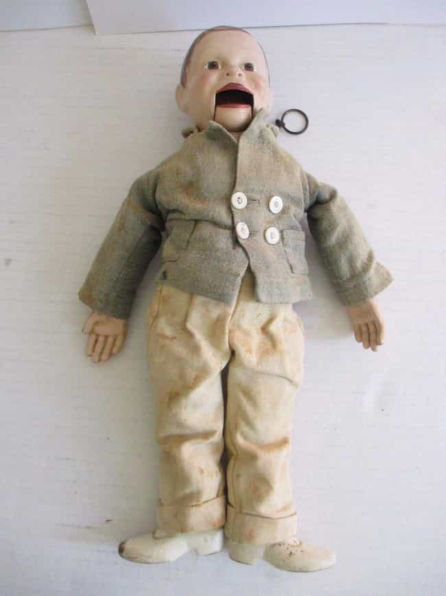 Antique Ventriloquist Dummy is listed (or ranked) 4 on the list 18 of the Creepiest Dolls You Can Buy on EBay