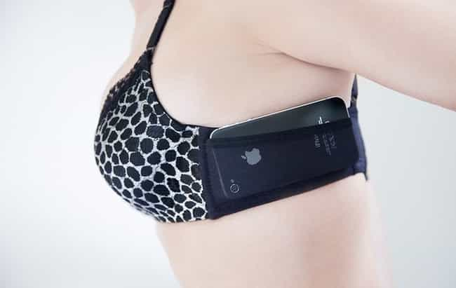 It's a Boobie Trap! is listed (or ranked) 3 on the list 21 Nonsense Phone Cases You Should Be Embarrassed to Buy