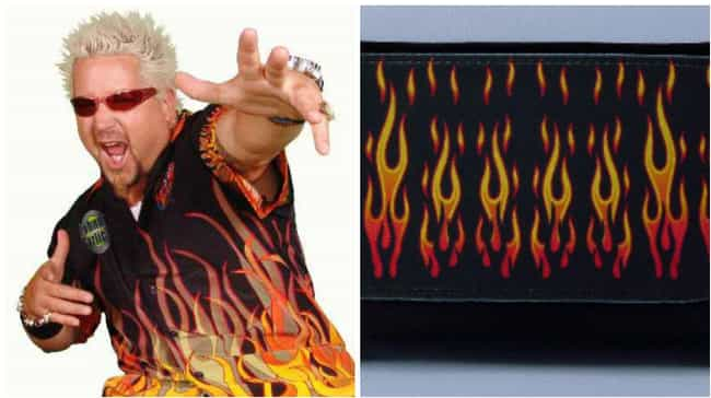 Before There Was Fire, There W... is listed (or ranked) 3 on the list Inanimate Objects That Are Basically Guy Fieri
