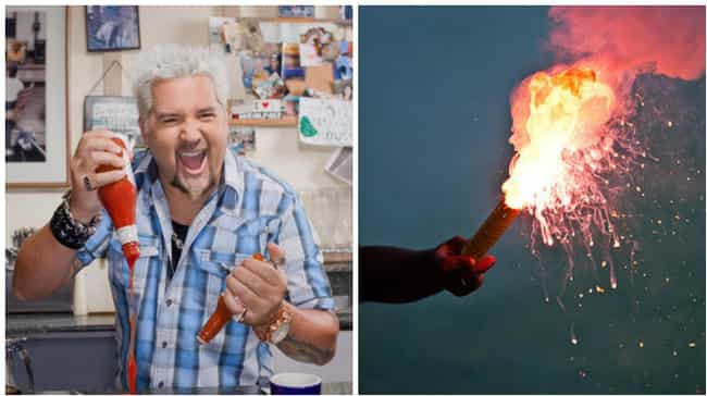 Guy Fieri Is Here to Light You... is listed (or ranked) 4 on the list Inanimate Objects That Are Basically Guy Fieri