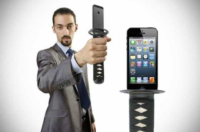 Ninja Please is listed (or ranked) 4 on the list 21 Nonsense Phone Cases You Should Be Embarrassed to Buy