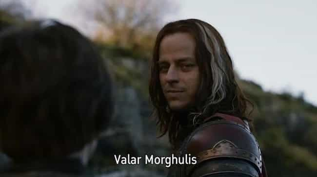 Valar Morghulis is listed (or ranked) 3 on the list Everything We Know About The House of Black and White