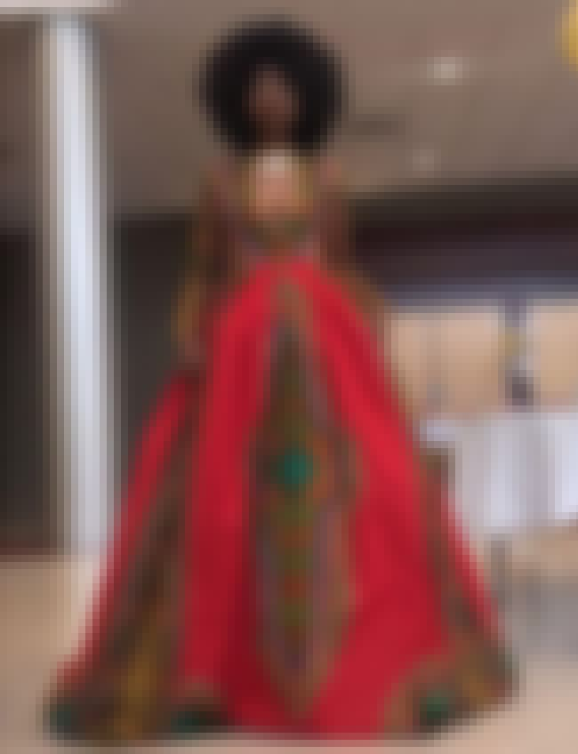 Amazing Afro-Centric Dress is listed (or ranked) 2 on the list Creative Homemade Prom Dresses