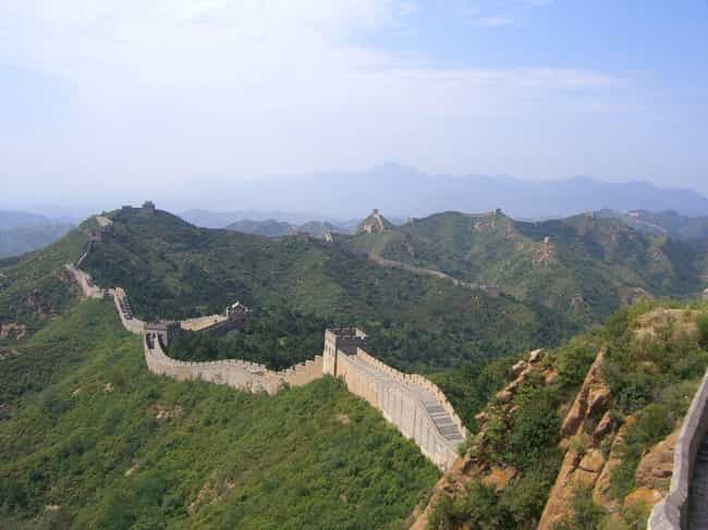 The Great Wall of China - 13,1... is listed (or ranked) 2 on the list The Longest Roads on Earth