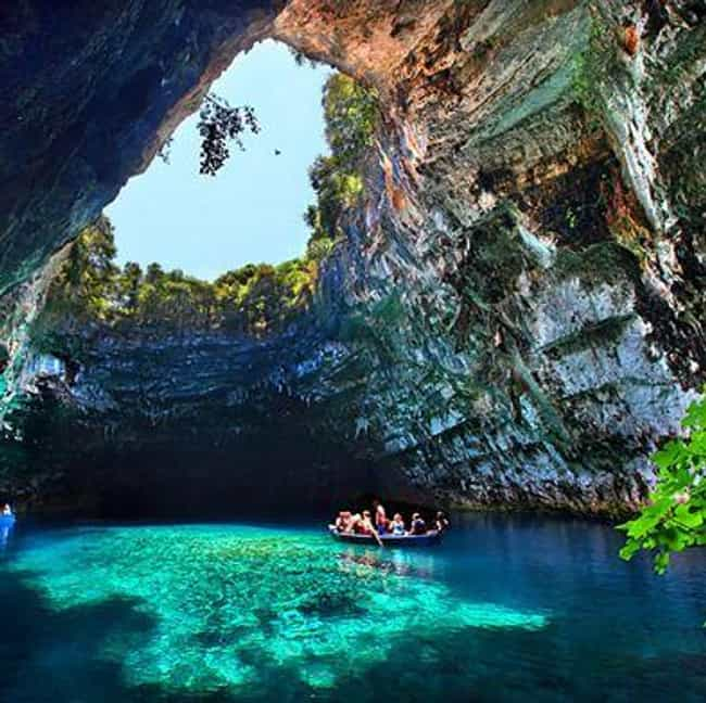 Majestic Trees and Forest View... is listed (or ranked) 1 on the list The Most Beautiful Sea Caves Around the World