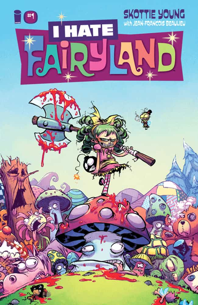 I Hate Fairyland is listed (or ranked) 1 on the list Comic Books That Would Make Great Cartoons