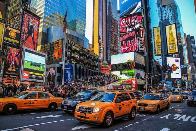 Times Square Is the Most... is listed (or ranked) 3 on the list The Coolest Facts You Didn't Know About Instagram
