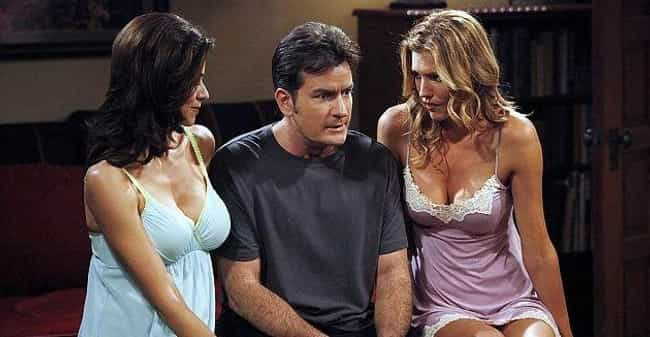 Two and a Half Men: Charlie Sh... is listed (or ranked) 3 on the list The Dark On-Set Drama Behind The Scenes Of Hit TV Shows
