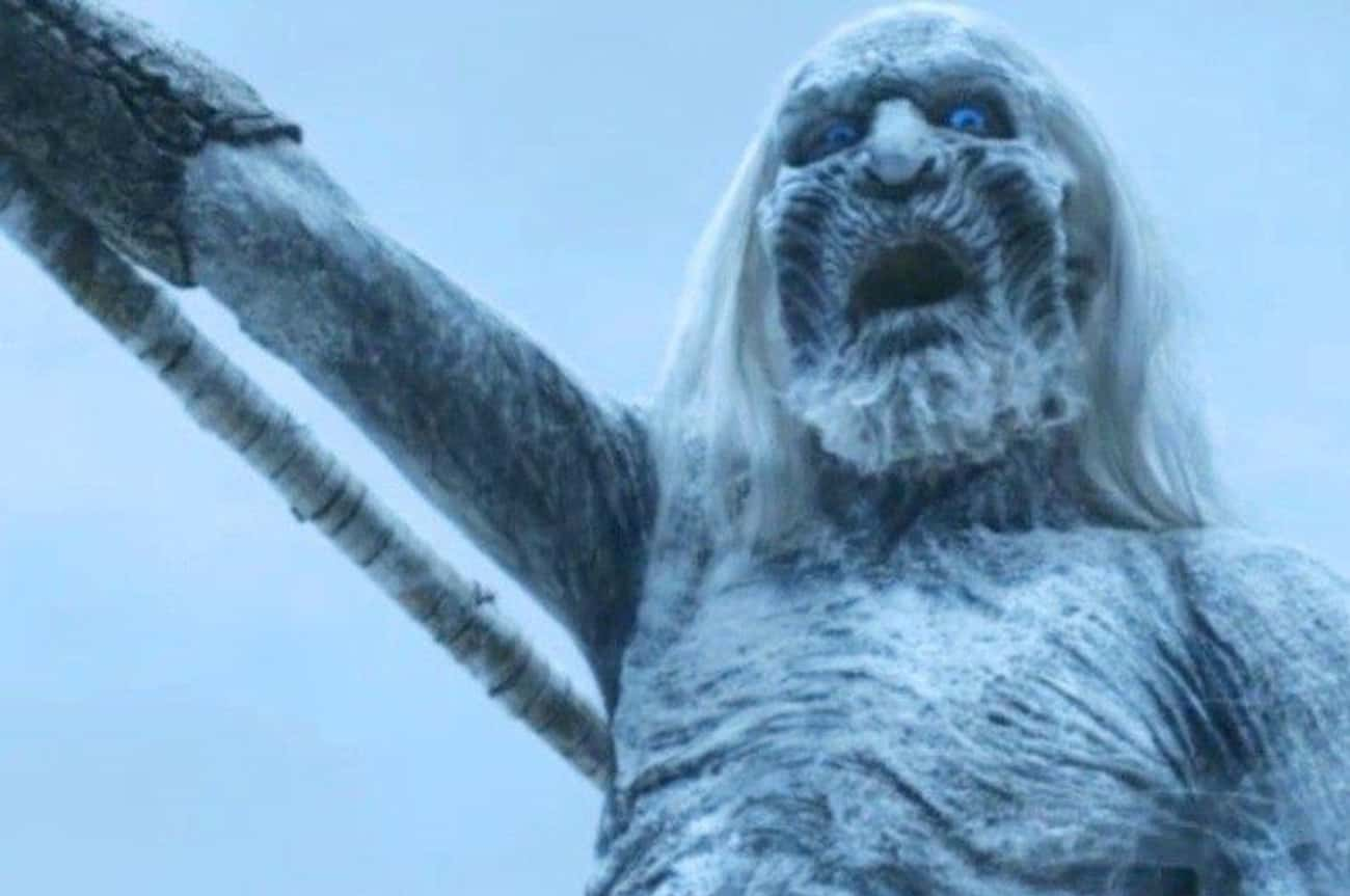 The White Walkers Attack is listed (or ranked) 4 on the list What the Children of the Forest Creating White Walkers Means
