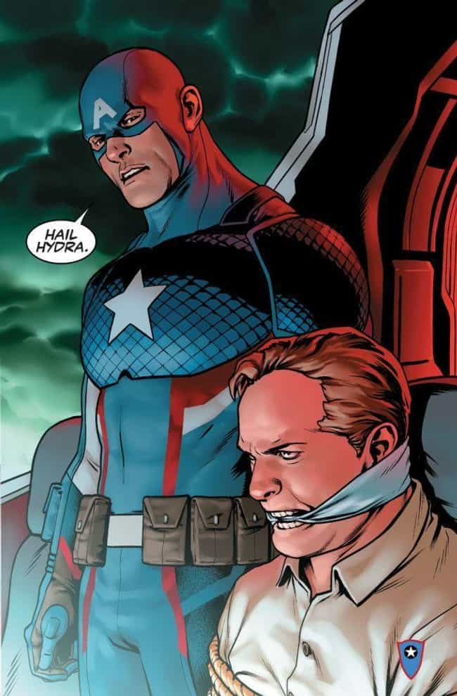That Time He Was Secretl... is listed (or ranked) 1 on the list 11 Times Captain America Was a D*ck in Comics