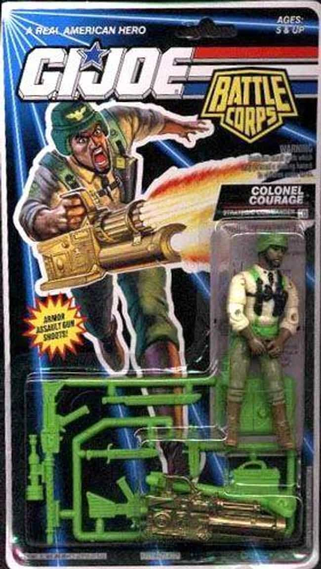 Colonel Courage is listed (or ranked) 3 on the list 22 G.I. Joe Action Figures You Wouldn't Want in Your Platoon