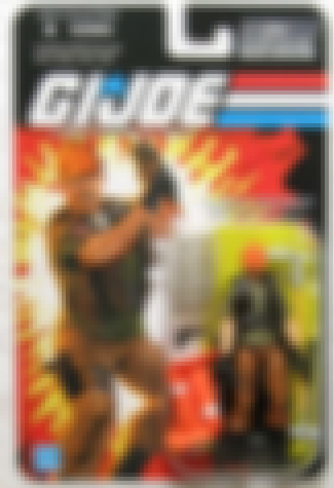 Tollbooth is listed (or ranked) 5 on the list 22 G.I. Joe Action Figures You Wouldn't Want in Your Platoon
