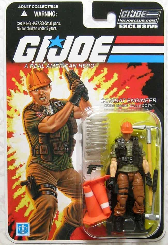 Tollbooth Is Listed Or Ranked 4 On The List 22 GI Joe Action Figures